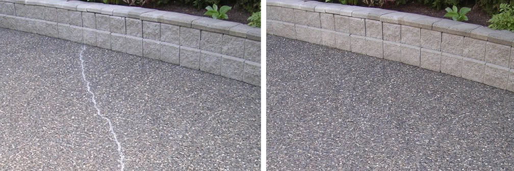 Concrete Smoothing Before and After Pic